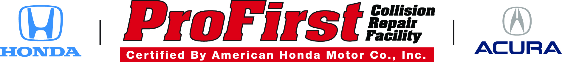 Certified ProFirst collision repair services